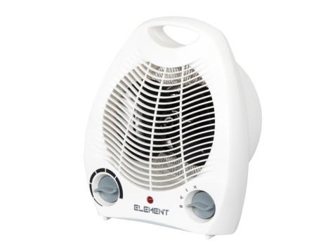 Тепловентилятор Element FH-205 White, обогреватель для дома, дуйчик, д