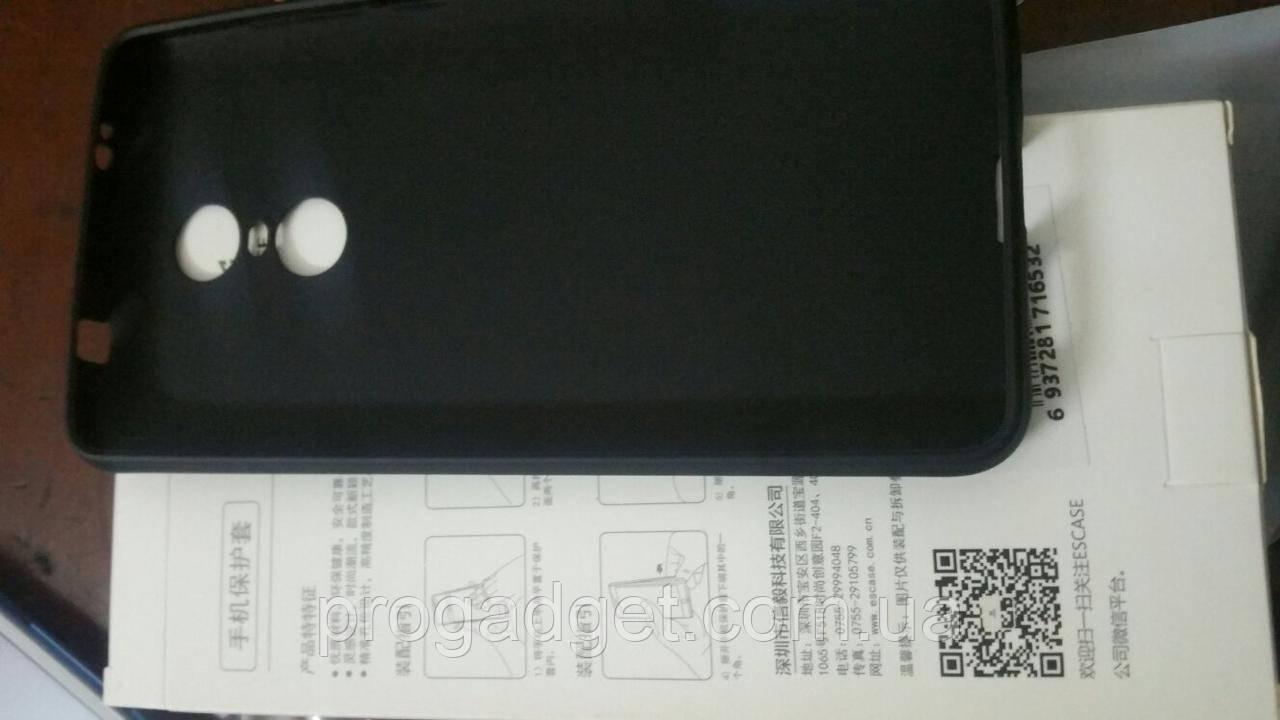 Защитный чехол ESCASE для Xiaomi Redmi Note 4X Black - чтобы любимому смартфону было не больно падать!