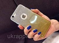 ЧехолнакладканаiPhone6 plus/6sPlusжелтыйградиент2в1.