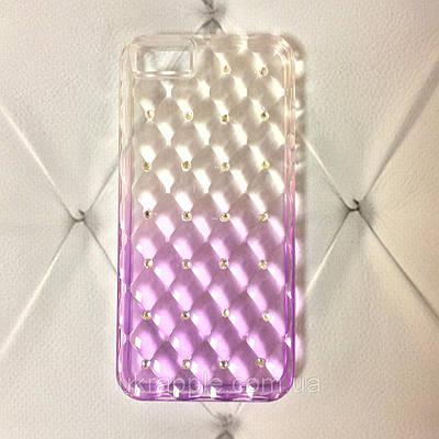 Чехол накладка на iPhone 5/5s/se gradient, фиолетовый