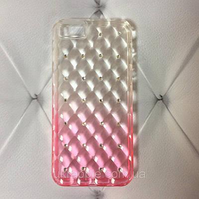 Чехол накладка на iPhone 5/5s/se Gelin Series gradient, розовый