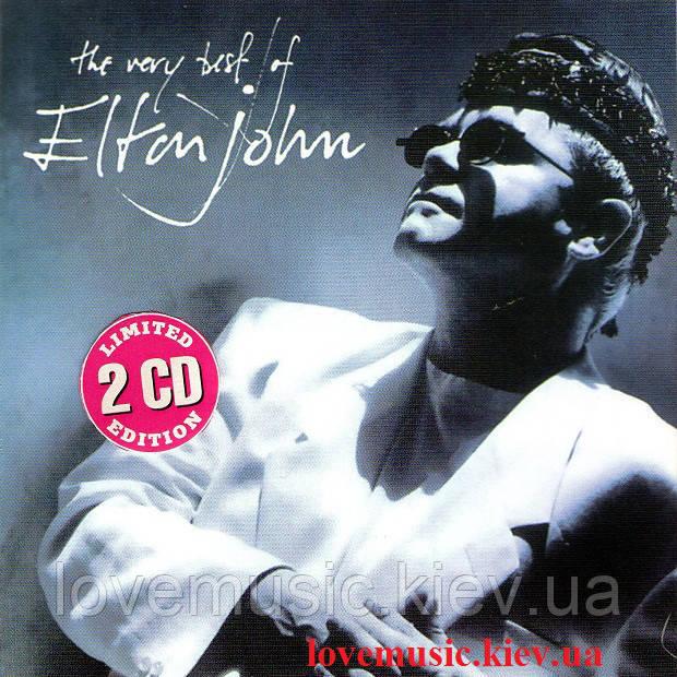 Музичний сд диск ELTON JOHN The very best of (1990) (audio cd)