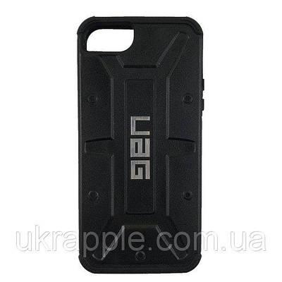 Чехол накладка для iPhone 5/5s/se UAG Case черный