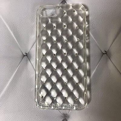 Чехол накладка на iPhone 5/5s/se Gelin Series gradient, прозрачный