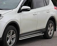 Подножки на Toyota Rav-4 (c 2013---) Тойота Рав 4 PRS