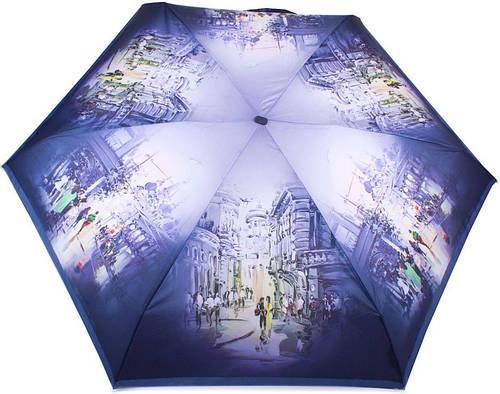 Женский облегченный зонт, компактный, механический ZEST (ЗЕСТ) Z255155-25