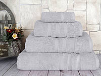 Полотенце махровое Classis 50х90 серый Irya