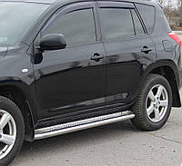 Подножки на Toyota Rav-4 (2006-2013) Тойота Рав 4 PRS