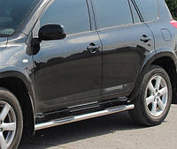 Подножки, Трубы на Toyota Rav-4 (2006-2013) Тойота Рав 4 PRS