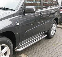 Подножки на Toyota Rav-4 (2000-2006) PRS