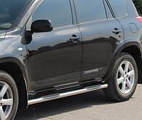 Подножки, Трубы на Toyota Rav-4 (2000-2006) PRS