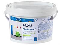 Натуральная краска для стен и потолков  Plantodecor premium  AURO No. 524  1 л