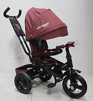 Детский велосипед трехколесный T-400 TRINITY ECO материалом надувные колеса