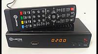 Ресивер DVB-T2 Q-SAT LORTON T2-18 с интернетом. Dolby Digital AC3 (корпус метал)