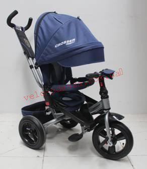 Детский велосипед трехколесный T-400 TRINITY надувные колеса