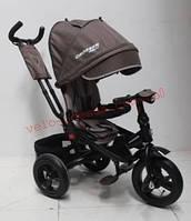 Детский трехколесный велосипед T-400 TRINITY надувные колеса, фото 1