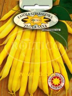 Польские семена фасоли спаржевой Золотая Сакса 40г, фото 2