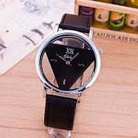 НОВИНКА! Стильные женские часы. Черные с черным (Код 031)