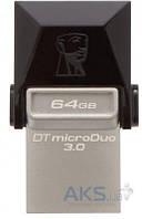 Флешка USB Kingston DT microDuo 64GB (DTDUO3/64GB)