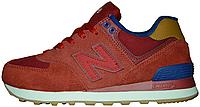 "Кроссовки New Balance 574 ""Red"""