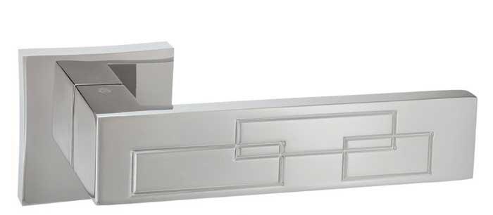 Дверная ручка ORO&ORO LOTUS 102-13E MSN перламутровый никель