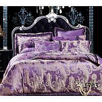 Жаккардовое постельное белье Viluta 1703 семейное