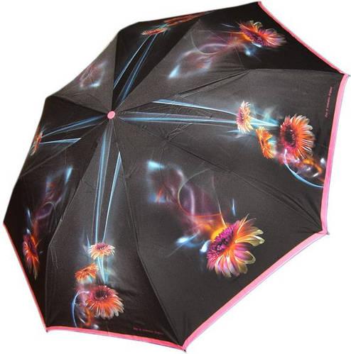 Современный женский зонт, полный автомат ZEST (ЗЕСТ) Z23744-1066 Антиветер