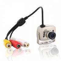Цветная камера видеонаблюдения CCTV 208 + БП