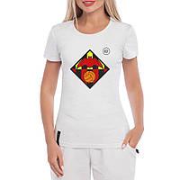 Женская футболка - Valencia футбольный клуб, отличный подарок купить со скидкой, недорого