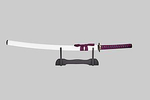 Сувенирный меч Катана на подставке Grand Way 13963
