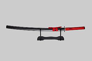 Сувенирный меч Катана в подарочной деревянной коробке, с подставкой Grand Way 13945