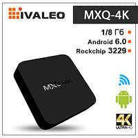 Смарт ТВ приставка MXQ 4K Android 6.0