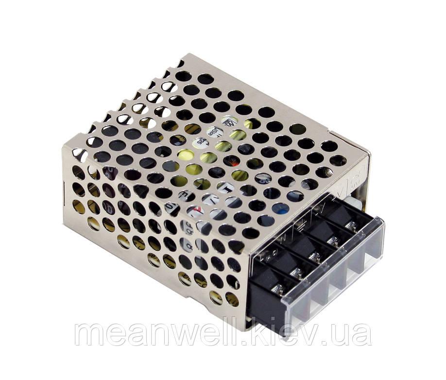 RS-15-24 Блок питания Mean Well 15Вт, 24в, 0,625А