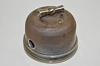 Выключатель поворотного типа 1-клавишный, бронза