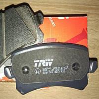 Колодки тормозные задние Passat B6 TRW GDB1763