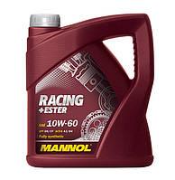 Моторное масло MANNOL Racing+Ester 10W-60 API SN/SM/CF 4л