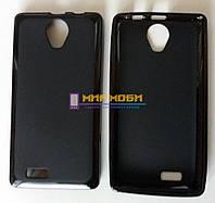 Чехол-бампер TPU силикон матовый Prestigio MultiPhone 3503 Wize C3 черный