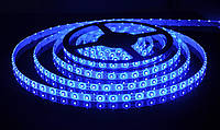 Лента LED светодиодная синяя SMD3528 4.8Вт 12V