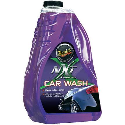 Автомобильный шампунь синтетический - Meguiar's NXT Generation Car Wash 1,89 л. (G12664), фото 2
