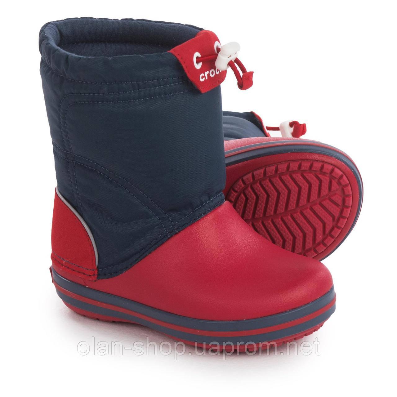 98081be87 Детские ботинки Crocs crocband lodgepoint snow boots, цена 900 грн ...