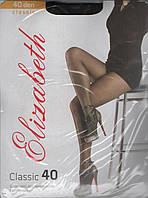 """Колготки """"Elizabeth"""" 40 Den classic nero, 5"""