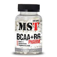 Глютамин MST Sport Nutrition L-Glutamine Pharm 3500 (120 caps)