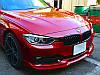 Губа BMW F30 тюнинг обвес переднего бампера стиль AC Schnitzer, фото 4