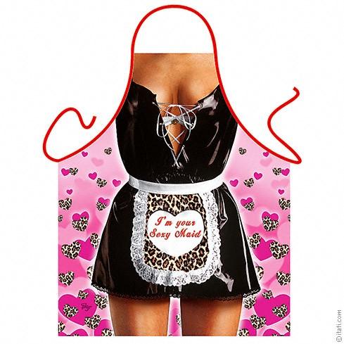 Подарунковий фартух — Sexy maid