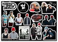 Stickers Pack Twenty One Pilots #15, фото 1