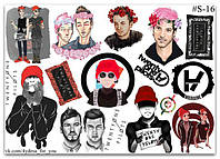 Stickers Pack Twenty One Pilots #16