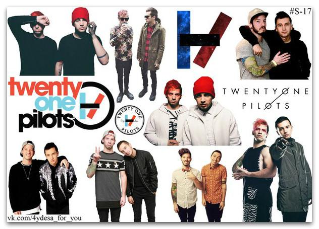 Stickers Pack Twenty One Pilots #17