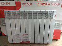 """Радиатор,батарея ( 16 атм) Польша алюминий 500/80 """"Corsica"""" Корсика Сушилка для белья - в подарок"""