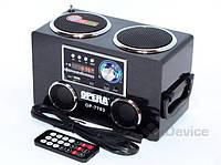 Портативная колонка Opera OP-7703, активная акустическая система 2 по 3 Вт., фото 1