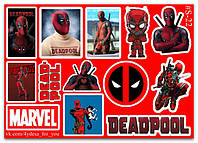 Stickers Pack Deadpool, Дэдпул #22